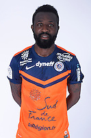 Siaka TIENE - 23.07.2014 - Portraits officiels Montpellier - Ligue 1 2014/2015<br /> Photo : Icon Sport