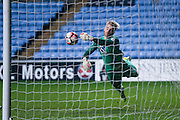 Coventry City goalkeeper Lee Burge (1) saves off the line  during the The FA Cup match between Coventry City and Morecambe at the Ricoh Arena, Coventry, England on 15 November 2016. Photo by Simon Davies.