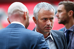 © Licensed to London News Pictures. 01/02/2016. London, UK. Ex-Chelsea manager José Mourinho attends FIFA Presidential Candidate, Gianni Infantino campaign launch at Wembley Stadium in London on Monday 1 February 2016. Photo credit: Tolga Akmen/LNP