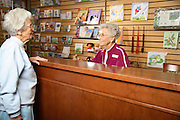 Elderly Women at the Bookstore