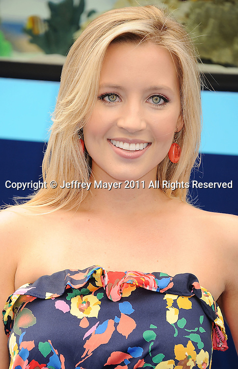 """WESTWOOD, CA - SEPTEMBER 17: Ashley White attends the """"Dolphin Tale"""" Los Angeles Premiere at Mann Village Theatre on September 17, 2011 in Westwood, California."""