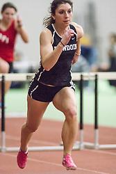 Bowdoin Indoor 4-way track meet: 60m high hurdles,  Emily Clark, Bowdoin