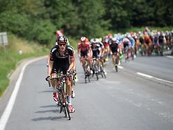 06.07.2015, Litschau, AUT, Österreich Radrundfahrt, 2. Etappe, Litschau nach Grieskirchen, im Bild Michael Gogl (AUT, Tirol Cycling Team) // Michael Gogl of Austria during the Tour of Austria, 2nd Stage, from Litschau to Grieskirchens, Litschau, Austria on 2015/07/06. EXPA Pictures © 2015, PhotoCredit: EXPA/ Reinhard Eisenbauer