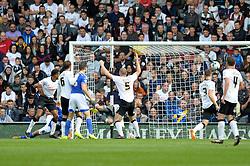 Ipswich Town's Christophe Berra (hidden) scores a goal. - Photo mandatory by-line: Dougie Allward/JMP - Mobile: 07966 386802 30/08/2014 - SPORT - FOOTBALL - Derby - iPro Stadium - Derby County v Ipswich Town - Sky Bet Championship