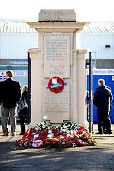 Memorial service at the Memorial Stadium - Mandatory by-line: Dougie Allward/JMP - 11/11/2016 - FOOTBALL - Memorial Stadium - Bristol, England - Bristol Rovers Memorial Service