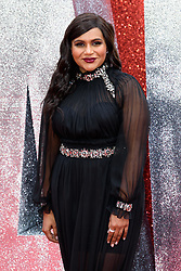 June 13, 2018 - London, United Kingdom of Great Britain and Northern Ireland - Mindy Kaling arriving at the London premiere of 'Ocean's 8' at Cineworld Leicester Square on June 13, 2018 in London, England  (Credit Image: © Famous/Ace Pictures via ZUMA Press)