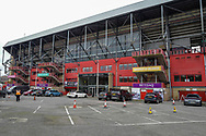 General view outside the Valley stadium during the EFL Sky Bet League 1 match between Charlton Athletic and Accrington Stanley at The Valley, London, England on 19 January 2019.