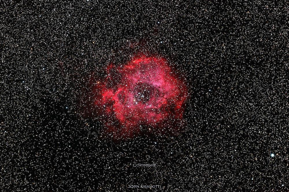 NGC 2239, The Rossette Nebula