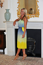 Denise Van Outten launches the search for Tesco Mum of the Year at The Savoy London, Wednesday September 5, 2012. Photo i-Images