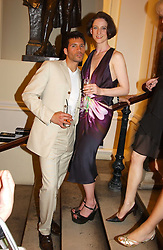 TAI STANLEY and MARIA GRACHVOGEL at the Royal Academy of Arts Summer Exhibition Preview Party held at Burlington House, Piccadilly, London on 2nd June 2005<br />