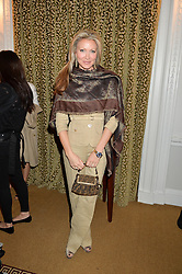 CAPRICE BOURRET at a breakfast hosted by Zita West and Leo Bamford to launch a range of vitamins for babies & children held at the Royal Society of Medicine, Chandos House, 2 Queen Anne Street, London on 21st May 2015.