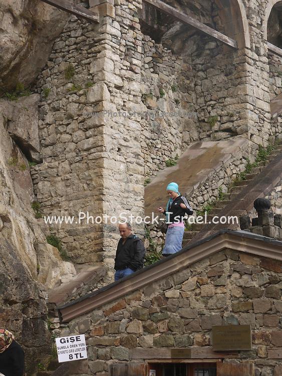 Turkey, Trabzon Province, Sumela Monastery