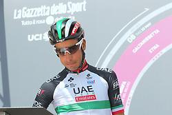 May 25, 2018 - Venaria Reale, Turin, Italy - The italian cyclist Fabio Aru of UAE Team Emirates before the start of the 19 stage Venaria Reale- Bardonecchia of Giro d'Italia 2018 on May 25, 2018 in Venaria Reale, Turin, Italy. (Credit Image: © Massimiliano Ferraro/NurPhoto via ZUMA Press)