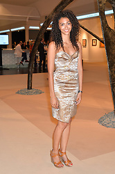 BELLA CALLIVA at the Masterpiece Marie Curie Party supported by Jeager-LeCoultre held at the South Grounds of The Royal Hospital Chelsea, London on 30th June 2014.