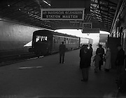 Last Train leaves Harcourt Station.31/12/1958<br />