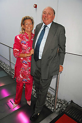 MAJOR & MRS CHRISTOPHER HANBURY at the Cartier Polo Players' Party in association with the Hurlingham Polo Association held at The Collection, London SW3 on 24th July 2007.<br /><br />NON EXCLUSIVE - WORLD RIGHTS
