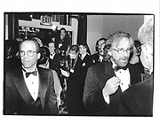 Jeffrey Katzenberg and Stephen Spielberg. Museum of Moving Image benefit. Waldorf Astoria. New York. 23 February 1995. © Copyright Photograph by Dafydd Jones 66 Stockwell Park Rd. London SW9 0DA Tel 020 7733 0108 www.dafjones.com