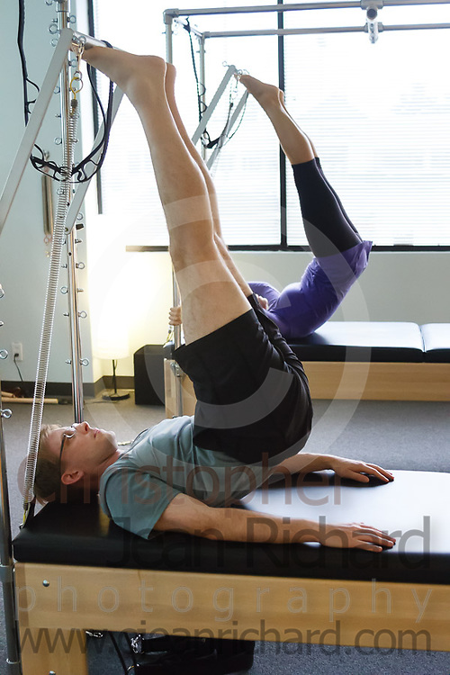 centerAlign Pilates and Body Rolling:<br /> <br /> Duet Session with Amber and David Barnett