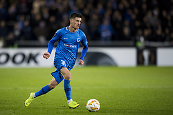 November 8, 2018 - Genk, BELGIUM - Genk's Joakim Maehle pictured in action during a match between Belgian soccer team KRC Genk and Turkish club Besiktas, in Genk, Thursday 08 November 2018 on day four of the UEFA Europa League group stage, in group I. BELGA PHOTO JASPER JACOBS (Credit Image: © Jasper Jacobs/Belga via ZUMA Press)