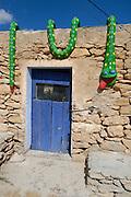 Curious decoration shop at Formentera, Balearic Islands, Spain