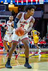 NORMAL, IL - December 07: Jaycee Hillsman during a college basketball game between the ISU Redbirds and the Morehead State Eagles on December 07 2019 at Redbird Arena in Normal, IL. (Photo by Alan Look)