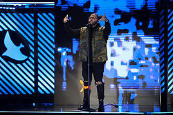 October 16, 2018 - Nashville, TN, U.S. - NASHVILLE, TN - OCTOBER 16: Social Club Misfits performs during the 49th Annual Dove Awards on October 16, 2018, at Allen Arena in Nashville, TN. (Photo by Jamie Gilliam/Icon Sportswire) (Credit Image: © Jamie Gilliam/Icon SMI via ZUMA Press)