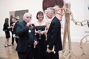 MICHAEL SANDLE; PELE COX; DAVID MACH; , Royal Academy of Arts Annual dinner. Royal Academy. Piccadilly. London. 1 June <br /> <br />  , -DO NOT ARCHIVE-© Copyright Photograph by Dafydd Jones. 248 Clapham Rd. London SW9 0PZ. Tel 0207 820 0771. www.dafjones.com.