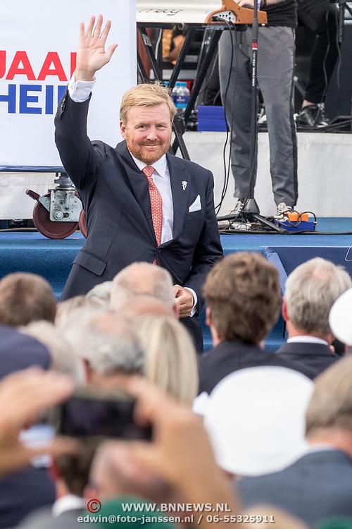 NLD/Terneuzen/20190831 - Start viering 75 jaar vrijheid, Koning Willem Alexander opent het herdenkingsjaar