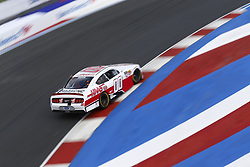 September 27, 2018 - Concord, North Carolina, United States of America - Cole Custer (00) brings his car through the turns during practice for the Drive for the Cure 200 at Charlotte Motor Speedway in Concord, North Carolina. (Credit Image: © Chris Owens Asp Inc/ASP via ZUMA Wire)