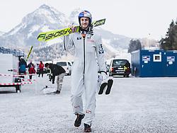 16.02.2020, Kulm, Bad Mitterndorf, AUT, FIS Ski Flug Weltcup, Kulm, Herren, Qualifikation, im Bild Gregor Schlierenzauer (AUT) // Gregor Schlierenzauer of Austria during his qualification Jump for the men's FIS Ski Flying World Cup at the Kulm in Bad Mitterndorf, Austria on 2020/02/16. EXPA Pictures © 2020, PhotoCredit: EXPA/ JFK