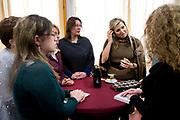 Koningin Maxima bezoekt jubileumbijeenkomst van het Autismecafé in Leiden.<br /> <br /> Queen Maxima attends the anniversary meeting of the Autism Café in Leiden.<br /> <br /> Op de foto / On the photo: <br /> <br />  Informele bijeenkomst / Informal meeting