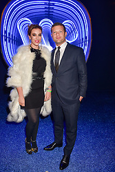 Dermot O'Leary and is wife Dee at the Warner Music & Ciroc Brit Awards party, Freemasons Hall, 60 Great Queen Street, London England. 22 February 2017.