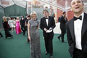 Janet de Botton ( ? ) and Tom Stoppard, Ark Gala Dinner, Marlborough House, London. 5 May 2006. ONE TIME USE ONLY - DO NOT ARCHIVE  © Copyright Photograph by Dafydd Jones 66 Stockwell Park Rd. London SW9 0DA Tel 020 7733 0108 www.dafjones.com