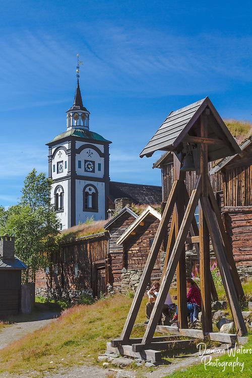 Roros church, kirke, Norway - August