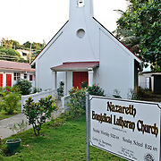 Nazareth Evangelical Lutheran Church in Cruz Bay, St John