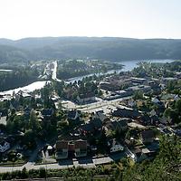 Vennesla 20060726.<br /> Oversiktsbilde over Vennesla nord for Kristiansand i Vest-Agder en sommerdag.<br /> Foto: Tor Erik Schrøder