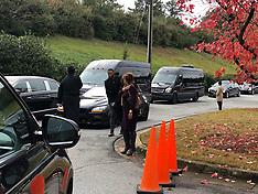 Kim Porter's Funeral - 25 Nov 2018