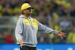 05.11.2011, Signal Iduna Park, Dortmund, GER, 1. FBL, Borussia Dortmund vs. VfL Wolfsburg, im Bild Juergen Klopp (Trainer Dortmund) beim 1-2 // during Borussia Dortmund vs. VfL Wolfsburg at Signal Iduna Park, Dortmund, GER, 2011-11-05. EXPA Pictures © 2011, PhotoCredit: EXPA/ nph/  Kurth       ****** out of GER / CRO  / BEL ******