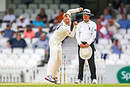 Gareth Batty of Surrey bowling during the Specsavers County Champ Div 1 match between Surrey County Cricket Club and Kent County Cricket Club at the Kia Oval, Kennington, United Kingdom on 10 July 2019.