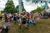 people  at the  Wilderness Festival Cornbury Park Oxfordshire,photo by Mark Anton Smith