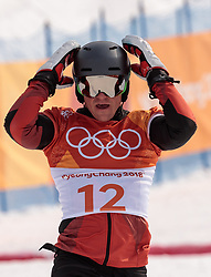24.02.2018, Phoenix Snow Park, Bokwang, KOR, PyeongChang 2018, Snowboard, Herren, Parallel Riesenslalom, im Bild Nevin Galmarini (SUI, 1. Platz) // gold medalist and Olympic champion Nevin Galmarini of Switzerland during the men's Snowboard Parallel Riesenslalom, qualification of the Pyeongchang 2018 Winter Olympic Games at the Phoenix Snow Park in Bokwang, South Korea on 2018/02/24. EXPA Pictures © 2018, PhotoCredit: EXPA/ Johann Groder