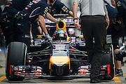 April 17, 2014 - Shanghai, China. UBS Chinese Formula One Grand Prix. Sebastian Vettel (GER), Red Bull-Renault<br /> <br /> © Jamey Price / James Moy Photography