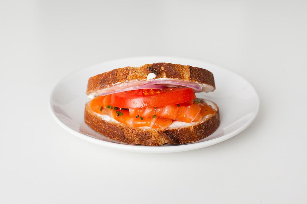 Salmon Sandwich from Breads Bakery ($8.66)