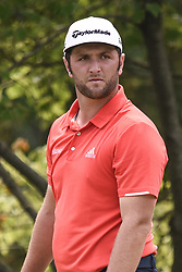 August 12, 2018 - Town And Country, Missouri, U.S - JON RAHM from Spain on hole two during round four of the 100th PGA Championship on Sunday, August 12, 2018, held at Bellerive Country Club in Town and Country, MO (Photo credit Richard Ulreich / ZUMA Press) (Credit Image: © Richard Ulreich via ZUMA Wire)
