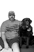 James Mann<br /> Service Dog: Potter<br /> Army (Active/Guard)<br /> 06/96-07/00 (Active)<br /> 08/06-07/13 (Guard)<br /> Infantry<br /> Bosnia/Kosovo<br /> OEF<br /> <br /> Veterans Portrait Project Photo by Stacy L. Pearsall