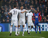 Chelsea's Diego Costa celebrates scoring his sides opening goal during the Premier League match at Selhurst Park Stadium, London. Picture date December 17th, 2016 Pic David Klein/Sportimage