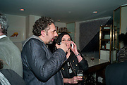 KEITH TYSON; SUE WEBSTER, Polly Morgan 30th birthday. The Ivy Club. London. 20 January 2010