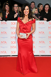 Susanna Reid attending the National Television Awards 2018 held at the O2, London. Photo credit should read: Doug Peters/EMPICS Entertainment