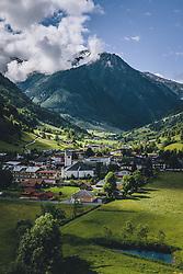 THEMENBILD - der Ort Fusch am der Grossglockner Hochalpenstrasse . Die Hochalpenstrasse verbindet die beiden Bundeslaender Salzburg und Kaernten und ist als Erlebnisstrasse vorrangig von touristischer Bedeutung, aufgenommen am 11. Juni 2020 in Fusch a.d. Glstr., Österreich // the village Fusch on the Grossglockner high alpine road. The High Alpine Road connects the two provinces of Salzburg and Carinthia and is as an adventure road priority of tourist interest, Fusch a.d. Glstr., Austria on 2020/06/11. EXPA Pictures © 2020, PhotoCredit: EXPA/ JFK