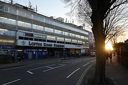 A general view of Loftus Road from the street - Photo mandatory by-line: Dougie Allward/JMP - Mobile: 07966 386802 - 04/03/2015 - SPORT - football - London - Loftus Stadium - Queens Park Rangers v Arsenal - Barclays Premier League